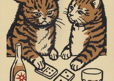Boîtes d'allumettes chats en soirée - Arna Miller 2018 (5)