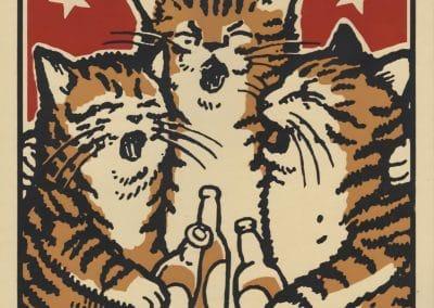 Boîtes d'allumettes chats en soirée - Arna Miller 2018 (6)