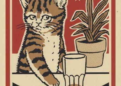 Boîtes d'allumettes chats en soirée - Arna Miller 2018 (7)