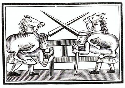 Le Chapbook Le monde renversé 1780 (11)