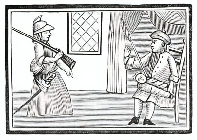 Le Chapbook Le monde renversé 1780 (2)