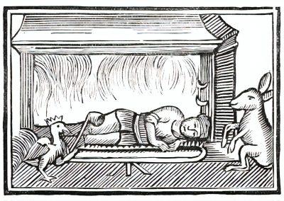 Le Chapbook Le monde renversé 1780 (4)