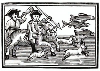 Le Chapbook Le monde renversé 1780 (5)