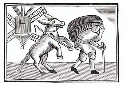 Le Chapbook Le monde renversé 1780 (8)