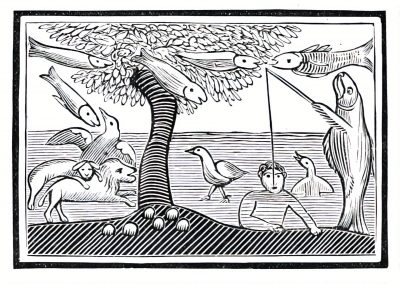 Le Chapbook Le monde renversé 1780 (9)