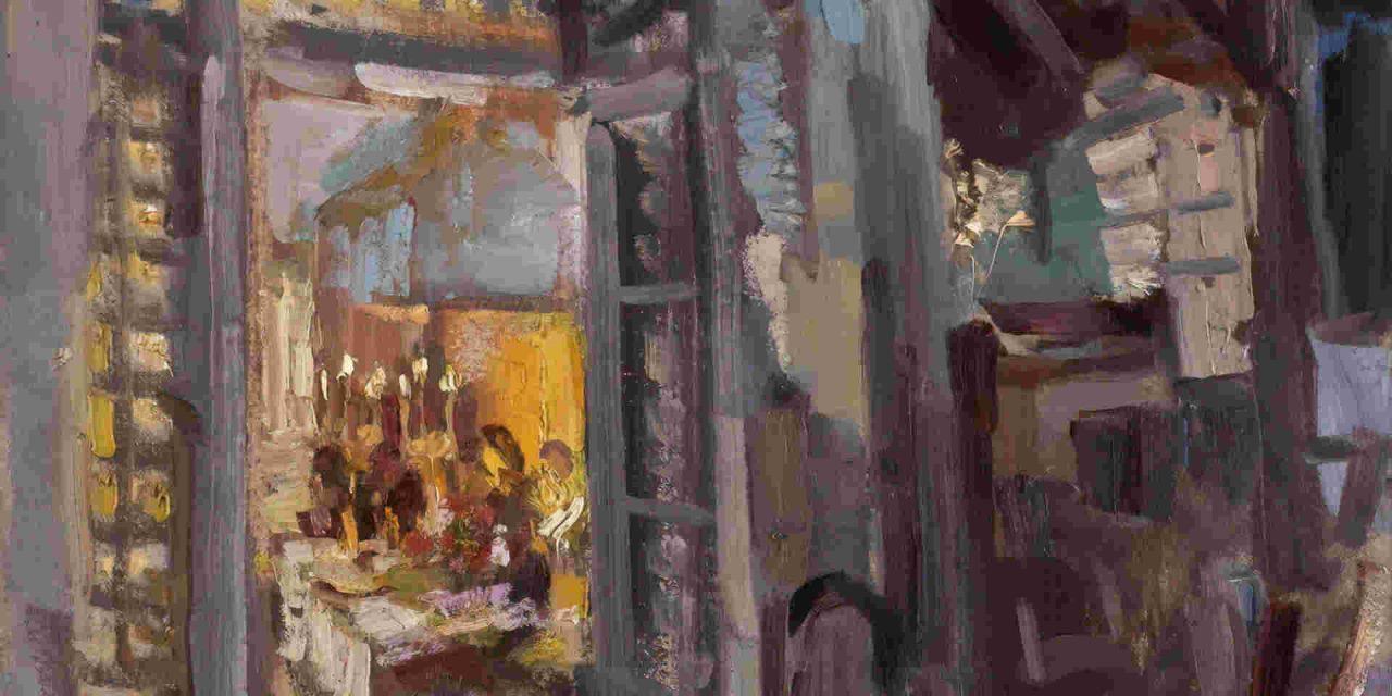 Le barman – Louis Brauquier
