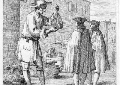 Les réalités de la vie quotidienne du peuple vénitien - Gaetano Zompini 1753 (12)