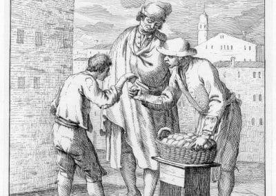 Les réalités de la vie quotidienne du peuple vénitien - Gaetano Zompini 1753 (13)