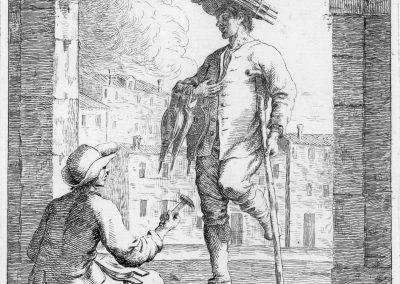 Les réalités de la vie quotidienne du peuple vénitien - Gaetano Zompini 1753 (19)