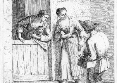 Les réalités de la vie quotidienne du peuple vénitien - Gaetano Zompini 1753 (21)