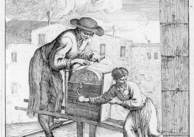 Les réalités de la vie quotidienne du peuple vénitien - Gaetano Zompini 1753 (22)