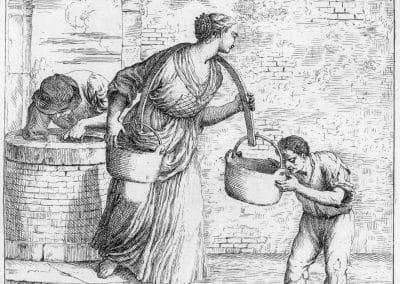 Les réalités de la vie quotidienne du peuple vénitien - Gaetano Zompini 1753 (25)