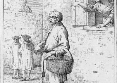 Les réalités de la vie quotidienne du peuple vénitien - Gaetano Zompini 1753 (26)