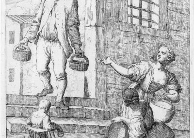Les réalités de la vie quotidienne du peuple vénitien - Gaetano Zompini 1753 (27)