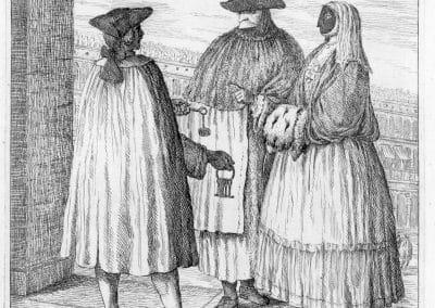 Les réalités de la vie quotidienne du peuple vénitien - Gaetano Zompini 1753 (28)