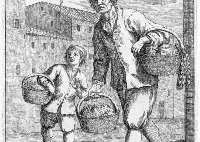 Les réalités de la vie quotidienne du peuple vénitien - Gaetano Zompini 1753 (3)
