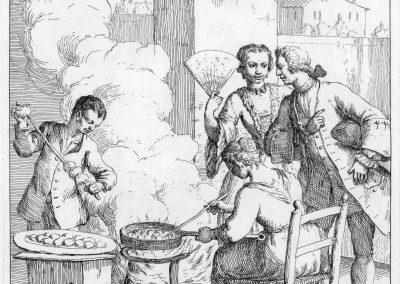 Les réalités de la vie quotidienne du peuple vénitien - Gaetano Zompini 1753 (32)