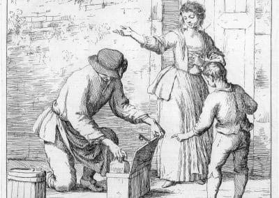 Les réalités de la vie quotidienne du peuple vénitien - Gaetano Zompini 1753 (34)
