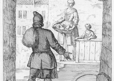 Les réalités de la vie quotidienne du peuple vénitien - Gaetano Zompini 1753 (35)