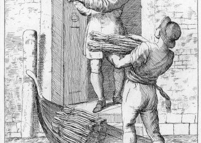 Les réalités de la vie quotidienne du peuple vénitien - Gaetano Zompini 1753 (37)