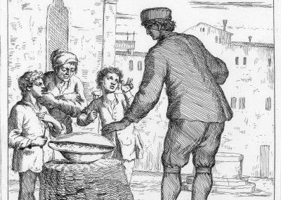 Les réalités de la vie quotidienne du peuple vénitien - Gaetano Zompini 1753 (38)