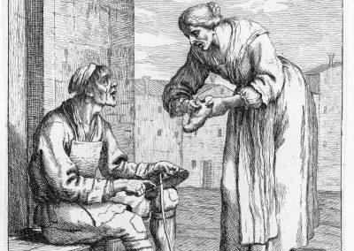 Les réalités de la vie quotidienne du peuple vénitien - Gaetano Zompini 1753 (4)