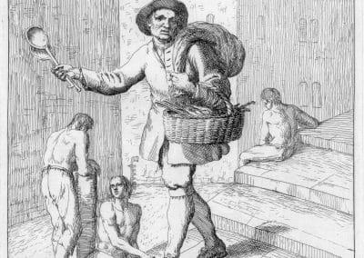 Les réalités de la vie quotidienne du peuple vénitien - Gaetano Zompini 1753 (41)