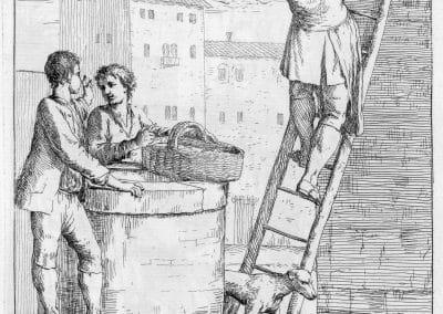 Les réalités de la vie quotidienne du peuple vénitien - Gaetano Zompini 1753 (42)