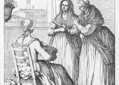 Les réalités de la vie quotidienne du peuple vénitien - Gaetano Zompini 1753 (43)