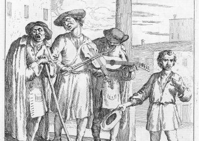 Les réalités de la vie quotidienne du peuple vénitien - Gaetano Zompini 1753 (45)