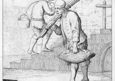 Les réalités de la vie quotidienne du peuple vénitien - Gaetano Zompini 1753 (46)