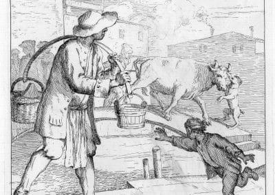 Les réalités de la vie quotidienne du peuple vénitien - Gaetano Zompini 1753 (49)