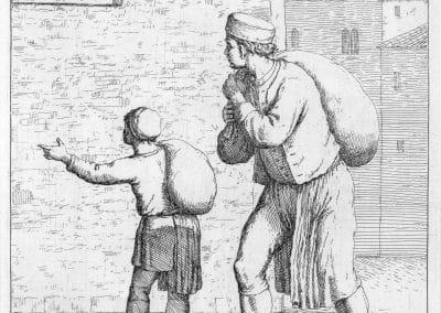 Les réalités de la vie quotidienne du peuple vénitien - Gaetano Zompini 1753 (50)