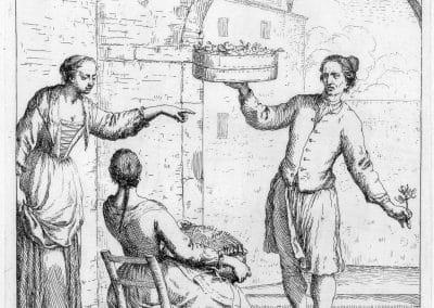 Les réalités de la vie quotidienne du peuple vénitien - Gaetano Zompini 1753 (57)