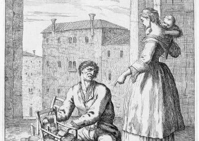 Les réalités de la vie quotidienne du peuple vénitien - Gaetano Zompini 1753 (6)