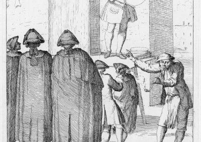 Les réalités de la vie quotidienne du peuple vénitien - Gaetano Zompini 1753 (60)