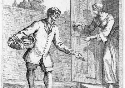 Les réalités de la vie quotidienne du peuple vénitien - Gaetano Zompini 1753 (7)