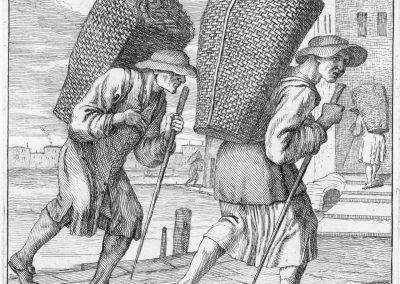Les réalités de la vie quotidienne du peuple vénitien - Gaetano Zompini 1753 (9)