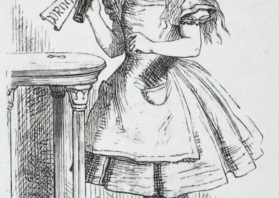 Alice au pays des merveilles - John Tenniel 1865 (4)