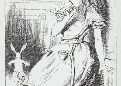 Alice au pays des merveilles - John Tenniel 1865 (6)