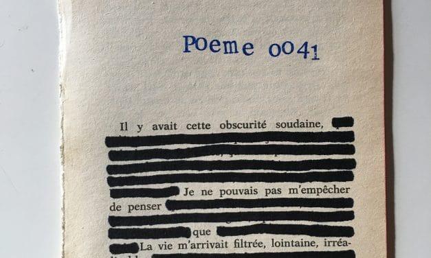 Poèmes express – Guillain Méjane